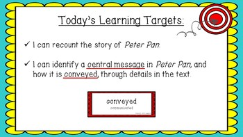 Engage NY Expeditionary Learning Module 3 Unit 2 Lesson 6 PowerPoint