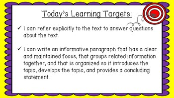 Engage NY Expeditionary Learning Module1 Unit2 Lesson11 2nd Edition PowerPoint