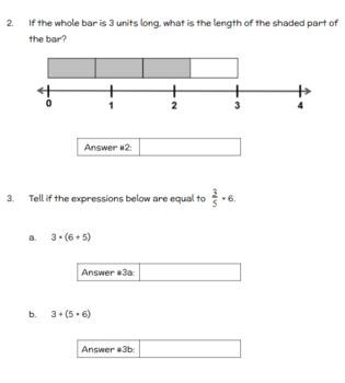 Fifth Grade Math Assessment/Test Prep (Fractions & Decimals)