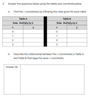 Fifth Grade Math Assessment/Test Prep (Geometry)