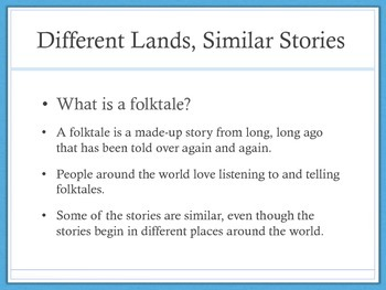 Engage NY: First Grade: Different Lands Similar Stories: Hu Gu Po
