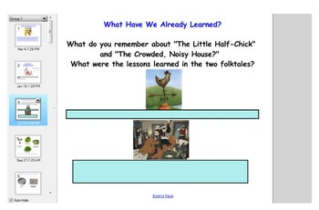 Engage NY First Grade ELA Domain 1 Fables and Folktales Lessons 7-10