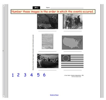 Engage NY First Grade ELA Domain 10 A New Nation Lessons 4, 5, PP, & 6