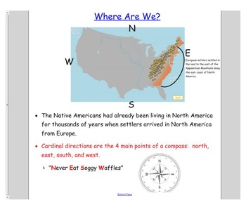 Engage NY First Grade ELA Domain 11 Frontier Explorers 1 - 7 and PP
