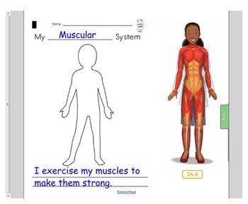 Engage NY First Grade ELA Domain 2 The Human Body Lessons 1-10, PP & DA