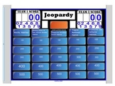 Engage NY First Grade ELA Domain 8 Animals and Habitats Jeopardy Review