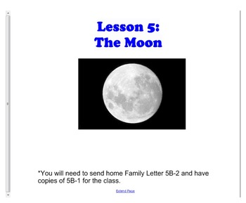 Engage NY First Grade ELA Listening and Learning Domain 6 Astronomy Lesson 5