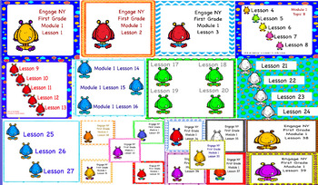Engage NY First Grade Module 1 Lessons 1-39