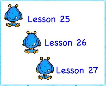 Engage NY First Grade Module 1 Topic G (Lessons 25-27)