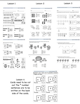 Engage NY First Grade Module 1 (Lessons 1-39)  Parent Letter & Answer Sheets