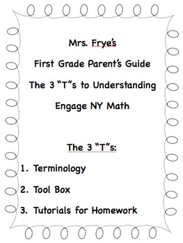Engage NY First Grade Module 1 (Lessons 1-39)  Parent Lett
