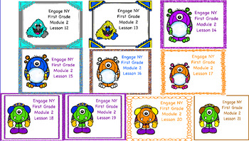 Engage NY First Grade Module 2 Topic B Lessons 12-21
