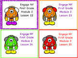 Engage NY First Grade Module 2 Topic C Lessons 21-25