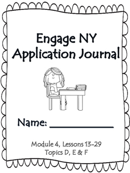 Engage NY First Grade Module 4 Lesson 13-29 Application Pr