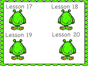 Engage NY First Grade Module 1 Topic E (Lessons 17-20)