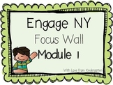 Engage NY Math Focus Wall Posters Module 1