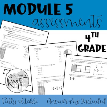 Engage NY Fourth Grade Module 5 Assessments