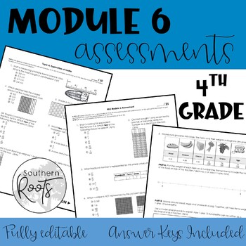 Module 6 Engage NY Eureka Math Fourth Grade Assessments