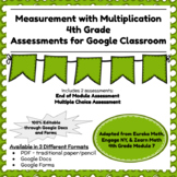 Fourth Grade Math Assessment/Test Prep (Measurement with Multiplication)