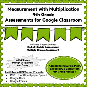 Engage NY Fourth Grade New York State Math Module 7 Assessment