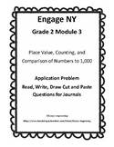 Engage NY G2 Application Problem RDW Journal Questions Bundle