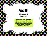 Engage NY Grade 1 Math: Module 1 Lesson 1