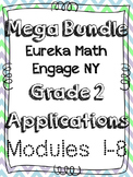 Eureka Math Applications Engage NY Grade 2 Math Modules 1-8