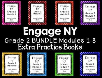 Engage NY Grade 2 Module 1-8 BUNDLE