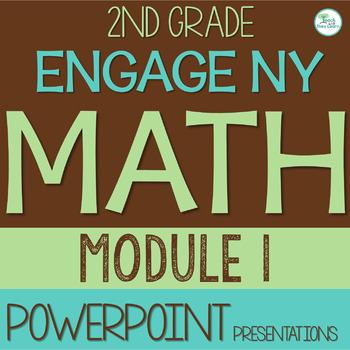 Engage NY Math Smart Board 2nd Grade Module 1 ENTIRE MODUL