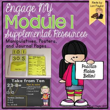 Eureka Math/ Engage NY Grade 2 Module 1 Supplemental Resource