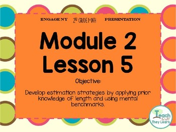 Engage NY Smart Board 2nd Grade Module 2 Lesson 5