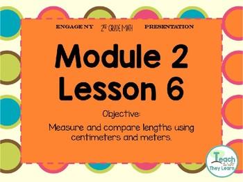 Engage NY (Eureka Math) Presentation 2nd Grade Module 2 Lesson 6