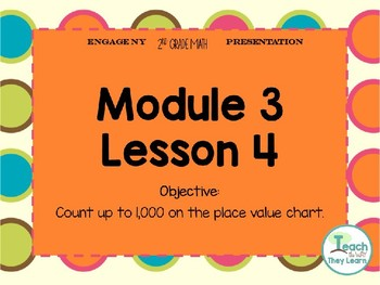 Engage NY (Eureka Math) Presentation 2nd Grade Module 3 Lesson 4