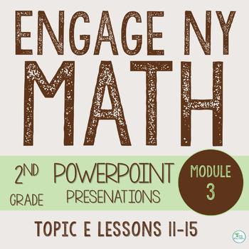 Engage NY Smart Board 2nd Grade Module 3 Topic E (Lessons 11-15) Zip File