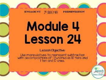 Engage NY (Eureka Math) Presentation 2nd Grade Module 4 Lesson 24