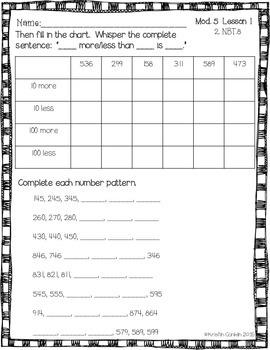 Engage NY Grade 2 Module 5