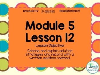 Engage NY/Eureka Math PowerPoint Presentation 2nd Grade Module 5 Lesson 12