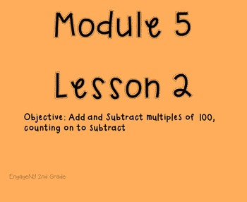 Engage NY Grade 2 Module 5 Lesson 2