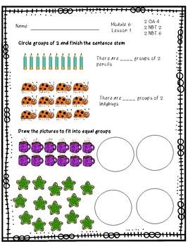 Eureka Math/Engage NY Grade 2 Module 6