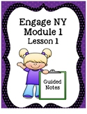 Engage NY Grade 3 Module 1 Guided Notes-Lesson 1