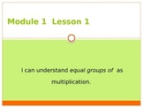 Engage NY Grade 3 Module 1 Lesson 1 PowerPoint