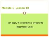 Engage New York / Eureka Grade 3 Module 1 Lesson 18 PowerPoint