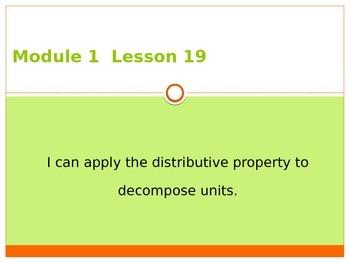 Engage New York / Eureka Grade 3 Module 1 Lesson 19 PowerPoint