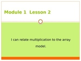 Engage New York / Eureka Grade 3 Module 1 Lesson 2 PowerPoint
