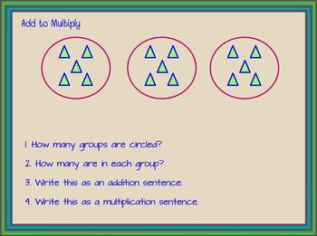 Engage NY Grade 3 Module 1 Lesson 3 Flipchart - Multiplication