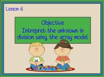 Engage NY Grade 3 Module 1 Lesson 6 Flipchart: Multiplication