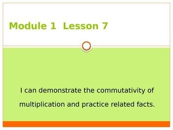 Engage New York / Eureka Grade 3 Module 1 Lesson 7 PowerPoint