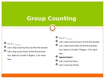 Engage New York / Eureka Grade 3 Module 1 Lesson 9 PowerPoint
