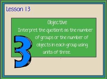 Engage NY Grade 3 Module 1 Topic D BUNDLE:  Lessons 11-13