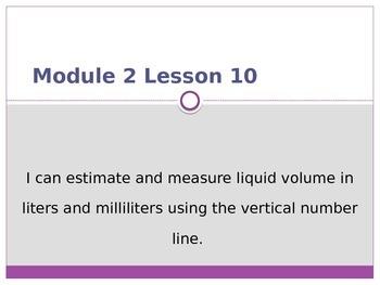 Engage New York / Eureka Grade 3 Module 2 Lesson 10 PowerPoint
